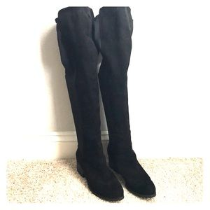 Like new Charles David over the knee suede boots